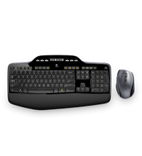 Combo Logitech Wireless MK710 USB
