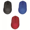Logitech M280 Wireless Mouse - Black/ Red/ Blue