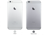 IPHONE 6 PLUS SILVER / SPACE GRAY 16GB